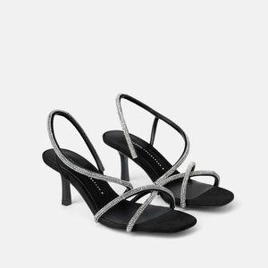 Zara Dressy Strappy Heels